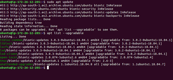 Ubuntu%20get%20a%20list%20of%20security%20updates%20on%20the%20command%20line%20